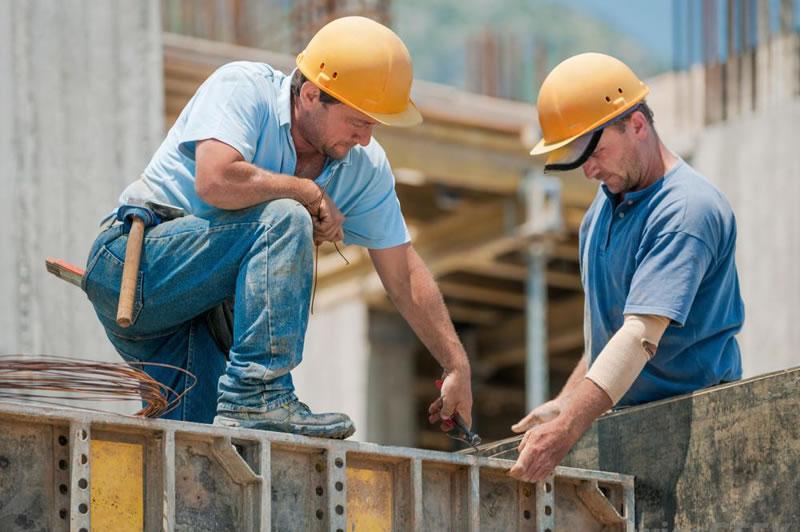 Travailleurs en BTP